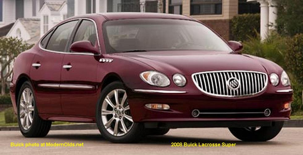 2008 Buick Lacrosse Super For Sale >> Buick LaCrosse specs: 2005-2009 | MidsizeBowties.net: Colonnades/GM Midsize 2000s Buick, 2005 ...