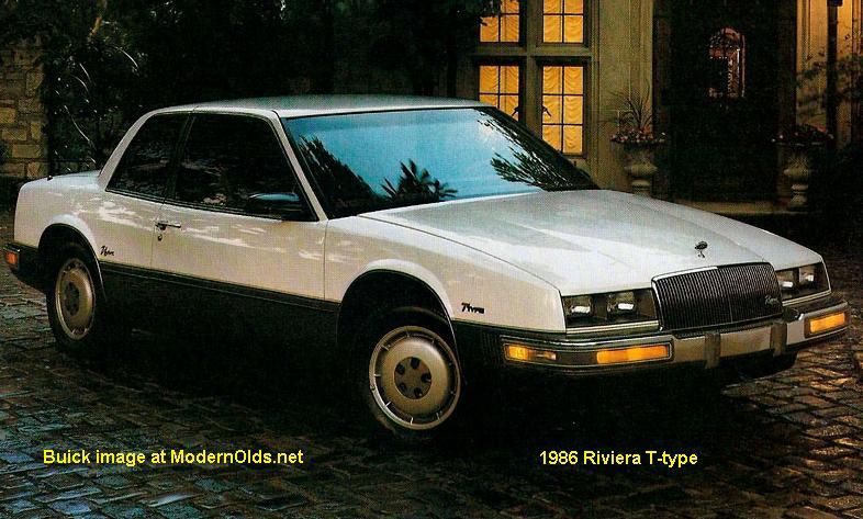 Buick Riviera Specs 1986 1988 Midsizebowties Net