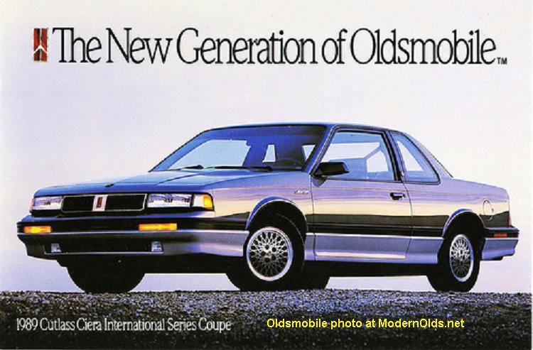 Olds Cutlass Ciera 1989
