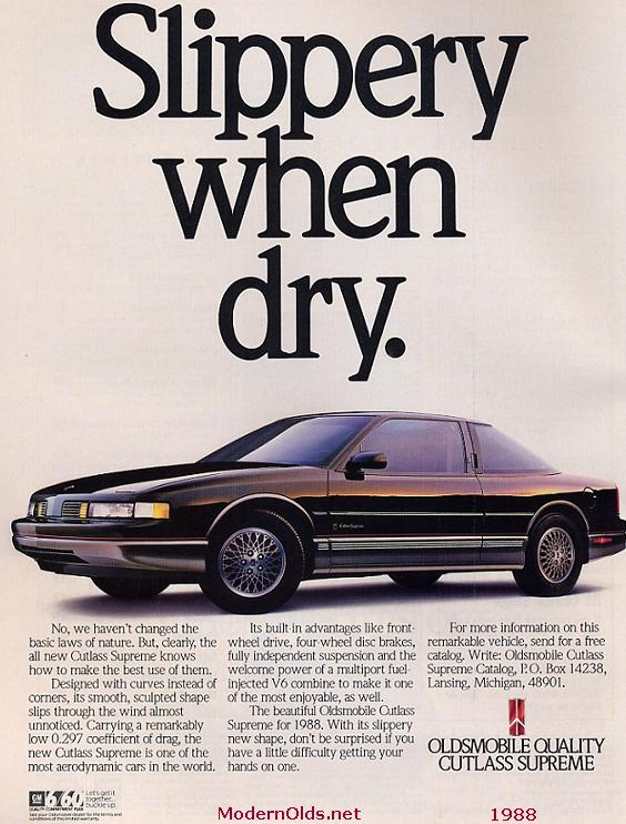 olds cutlass supreme 1988