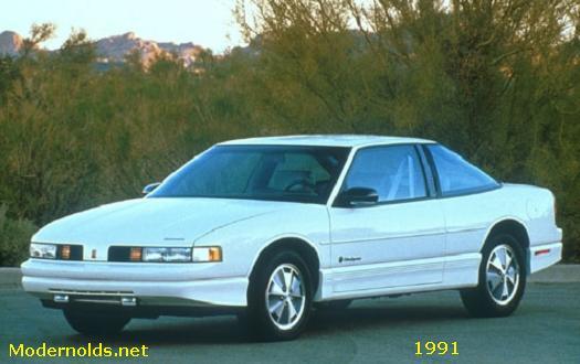 olds cutlass supreme 1991