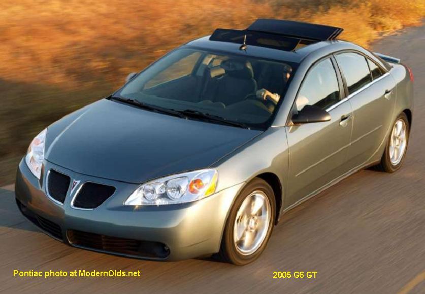 Pontiac G6 Specs 2005 2010 Midsizebowties Net