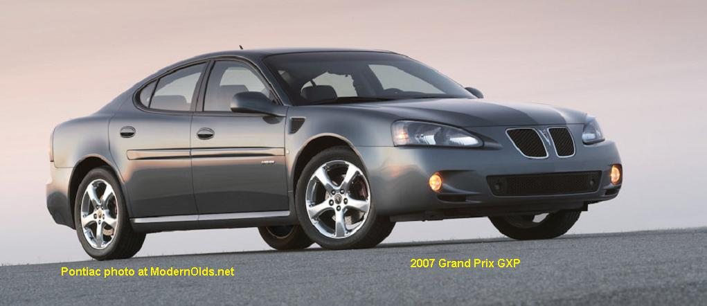2007 Pontiac Grand Prix GXP
