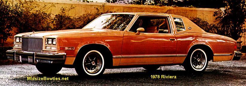 Buick Riviera Specs 1977 1978 Midsizebowties Net