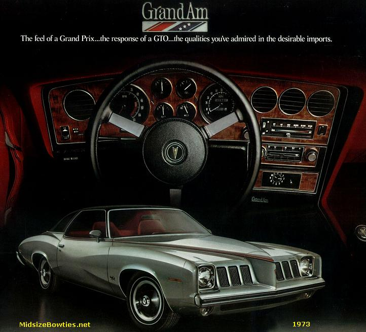 Pontiac Grand Am- 1973-1975 specs
