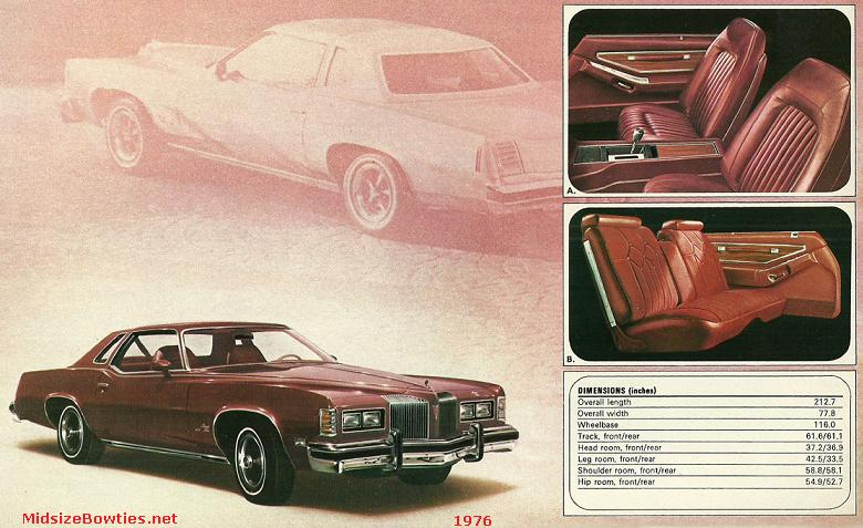 pontiac grand prix 1976
