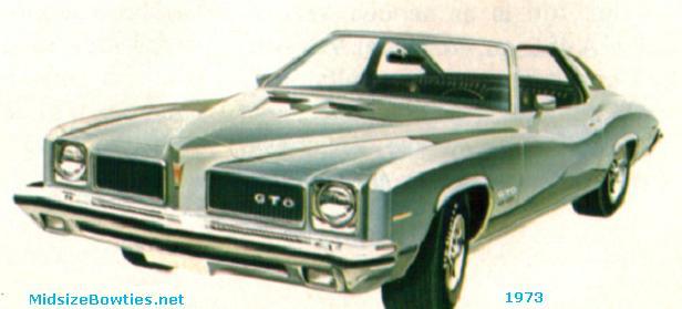 pontiac gto 1973