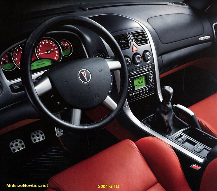 Pontiac GTO specs: 2004-2006 | MidsizeBowties.net: Colonnades/GM ...